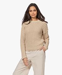 Resort Finest Zita Chunky Knit Sweater - Warm Sand