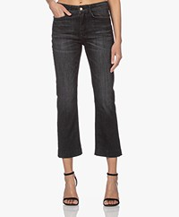 Drykorn Speak Straight Cropped Jeans - Off-black