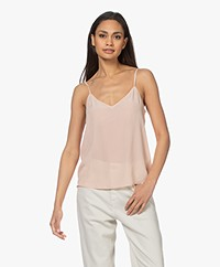 Equipment Layla Silk Camisole - French Nude