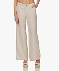 Josephine & Co Laurel Linnen Pantalon - Natural