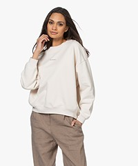 IRO Siryla Oversized Logo Sweatshirt - Off-white