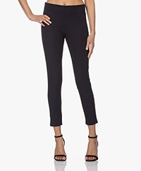 Joseph Nitro-Gabardine Stretch Leggings - Navy