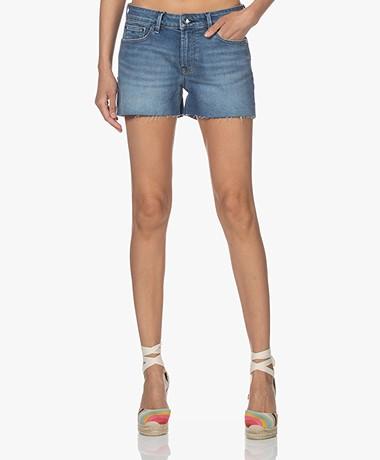 Denham Monroe Denim Shorts - Blue