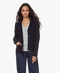 Woman by Earn Yenthe Milano Gebreide Blazer - Navy