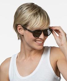 IZIPIZI SUN #F Sunglasses - Black/Grey Lenses