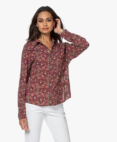 ba&sh Saige Floral Print Shirt - Multi-colored