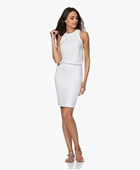 James Perse Blouson Tank Dress - White