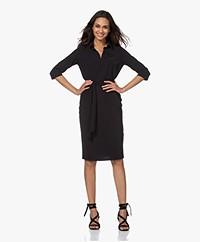 JapanTKY Nene Travel Jersey Dress - Black
