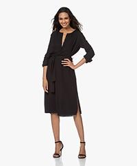 Filippa K Milla Recycled Chiffon Dress - Black