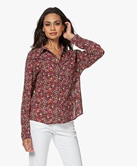 ba&sh Saige Floral Print Shirt - Multi-colored