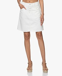 Closed Ibbie A-line Denim Skirt - Cream