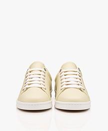 Filippa K Alice Leren Sneakers - Vanille