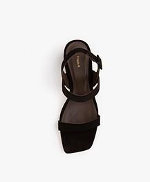 Filippa K Anna Slingback Sandalen - Zwart