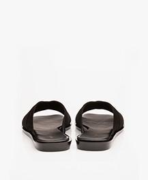Filippa K Leona Cross Slippers - Zwart