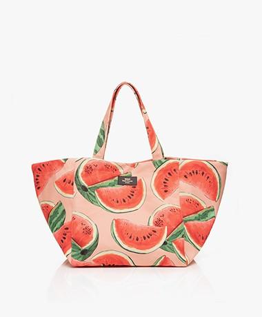 WOUF Watermelon XL Shopper - Roze