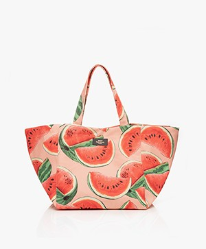 WOUF Watermelon XL Shopper - Roze