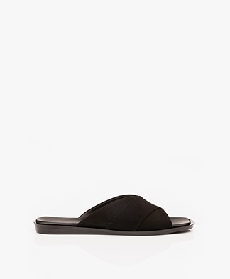 Filippa K Leona Cross Slippers - Zwart