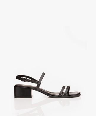 Filippa K Tessa Mid Heel Sandals - Black