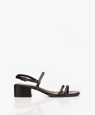 Filippa K Tessa Mid Heel Sandalen - Zwart