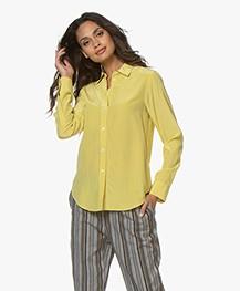Filippa K Classic Silk Shirt - Dijon Yellow