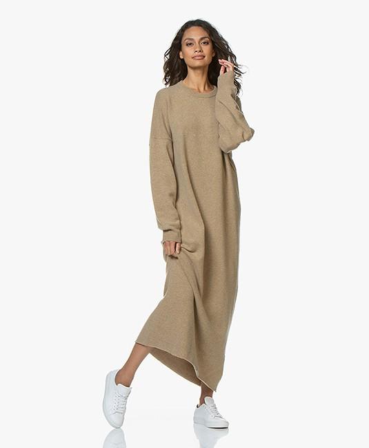 extreme cashmere N°106 Weird Knitted Maxi Dress - Harris