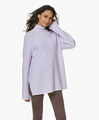 By Malene Birger Ellison Alpaca Blend Turtleneck Sweater - Cool Lavender