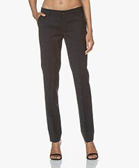 Filippa K Luisa Cool Wool Slacks - Dark Navy
