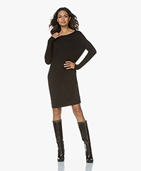 Sibin/Linnebjerg Ella Merino Sweater Dress - Black