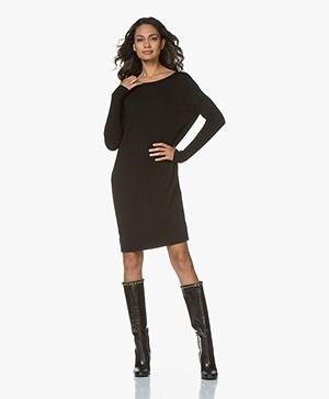 Sibin/Linnebjerg Ella Merino Sweater Dress - Black