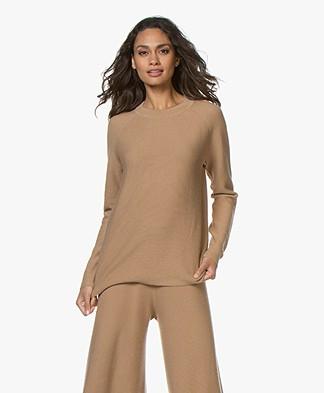 Drykorn Eboni Cashmere Mix Sweater - Camel