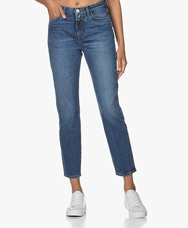 Closed Baker High-rise Slim-fit Jeans - Mid Blue