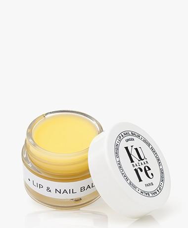 Kure Bazaar Hydraterende Lippen en Nagel Balsem - Gemberextract
