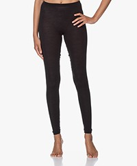 HANRO Wool-silk Blend Leggings - Black