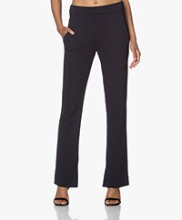 by-bar Lowie Interlock Jersey Broek  - Midnight