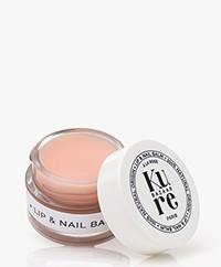 Kure Bazaar Hydraterende Lippen en Nagel Balsem - Rozenextract