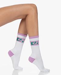 Dolly Sports Jackie Retro Logo Sokken - Roze