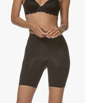 SPANX® Mid-Thigh Power Short - Zwart