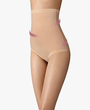 Wolford Tulle Control Panty High Waist - Nude
