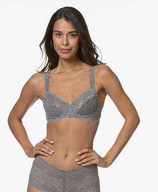 HANRO Moments Underwire Bra - Smooth Grey