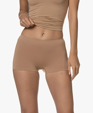 HANRO Touch Feeling High-rise Short - Caramel