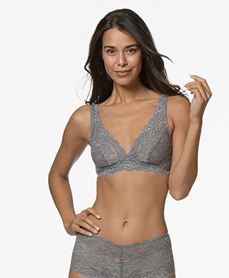 HANRO Moments Soft Cup Bra - Smooth Grey