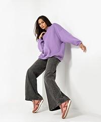 American Vintage Ikatown French Terry Sweatshirt - Purple