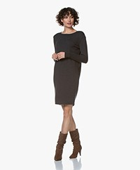 Sibin/Linnebjerg Ella Merino Sweater Dress - Anthracite