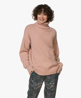 extreme cashmere N°20 Oversized Coltrui - Tea Rose