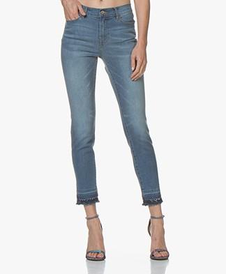 Repeat Raw-hem Skinny Jeans - Lichtblauw