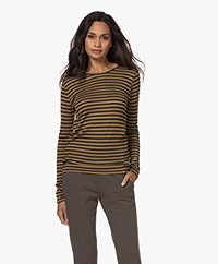 by-bar Basic Striped Long Sleeve - Dry Khaki