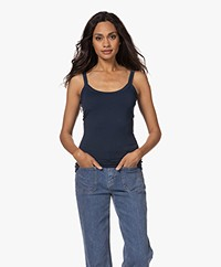 Woman by Earn Haley Micromodal Top - Navy