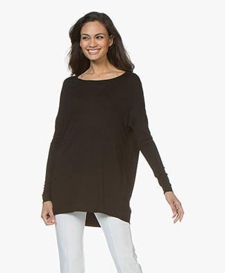 By Malene Birger Jersey Tunic Alloi - Black