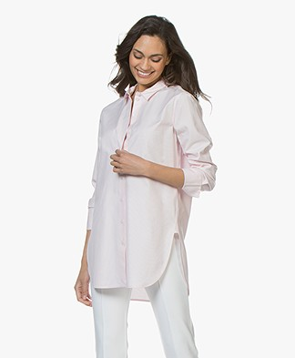 By Malene Birger Likarah Krijstreep Blouse - Morning Glory