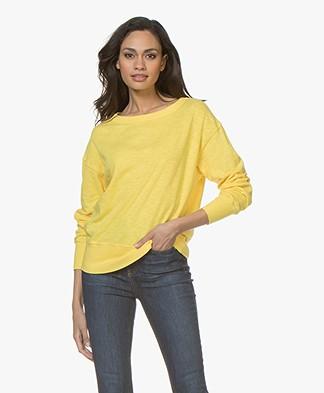 American Vintage Sonoma Cotton Sweatshirt - Canary